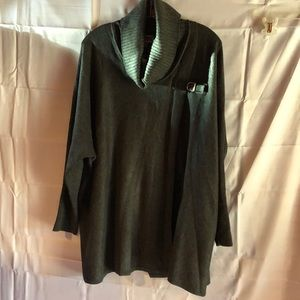 JM collection Cape like Sweater